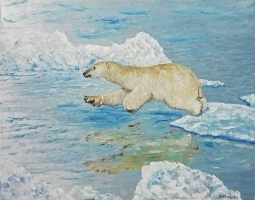 Lidiya Ivanova. Polar bear - photo 1