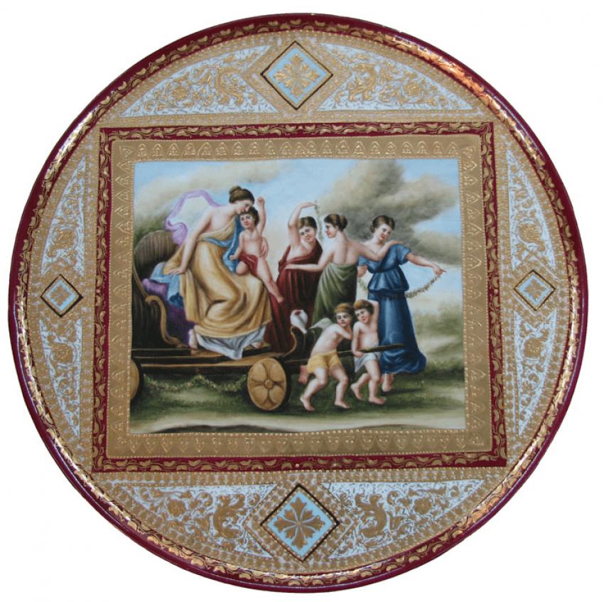 Porcelain 51.5 cm France of the NINETEENTH century - photo 1