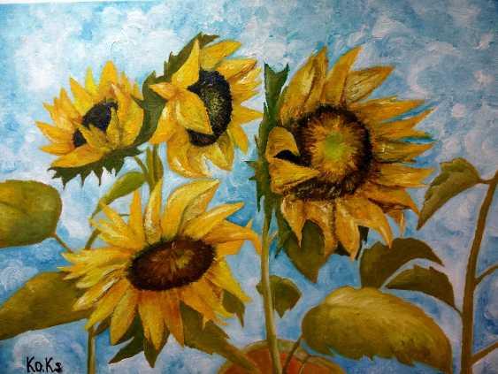 Ksenia Korneva. Sunflowers - photo 1
