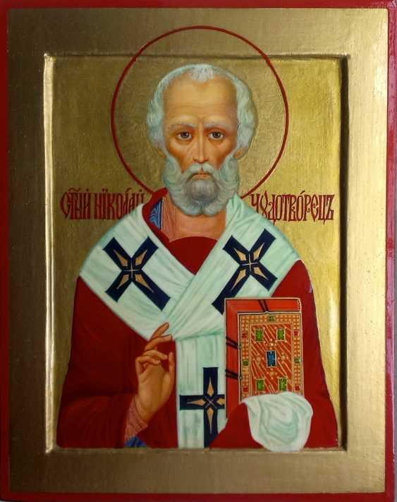 Gennadiy Stepanov. Icon Of St. Nicholas The Wonderworker. - photo 1