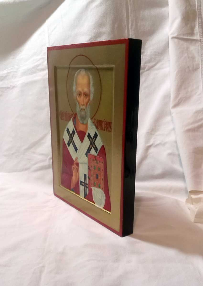 Gennadiy Stepanov. Icon Of St. Nicholas The Wonderworker. - photo 2