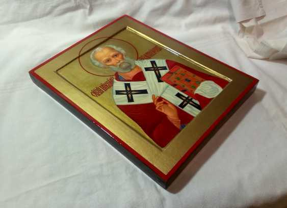 Gennadiy Stepanov. Icon Of St. Nicholas The Wonderworker. - photo 3