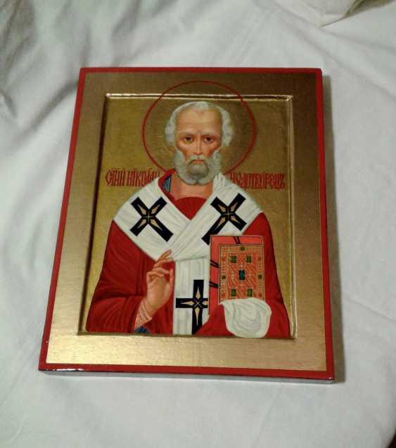 Gennadiy Stepanov. Icon Of St. Nicholas The Wonderworker. - photo 4