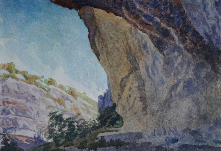 Aleksandr Zgursky. Under a rock. - photo 1