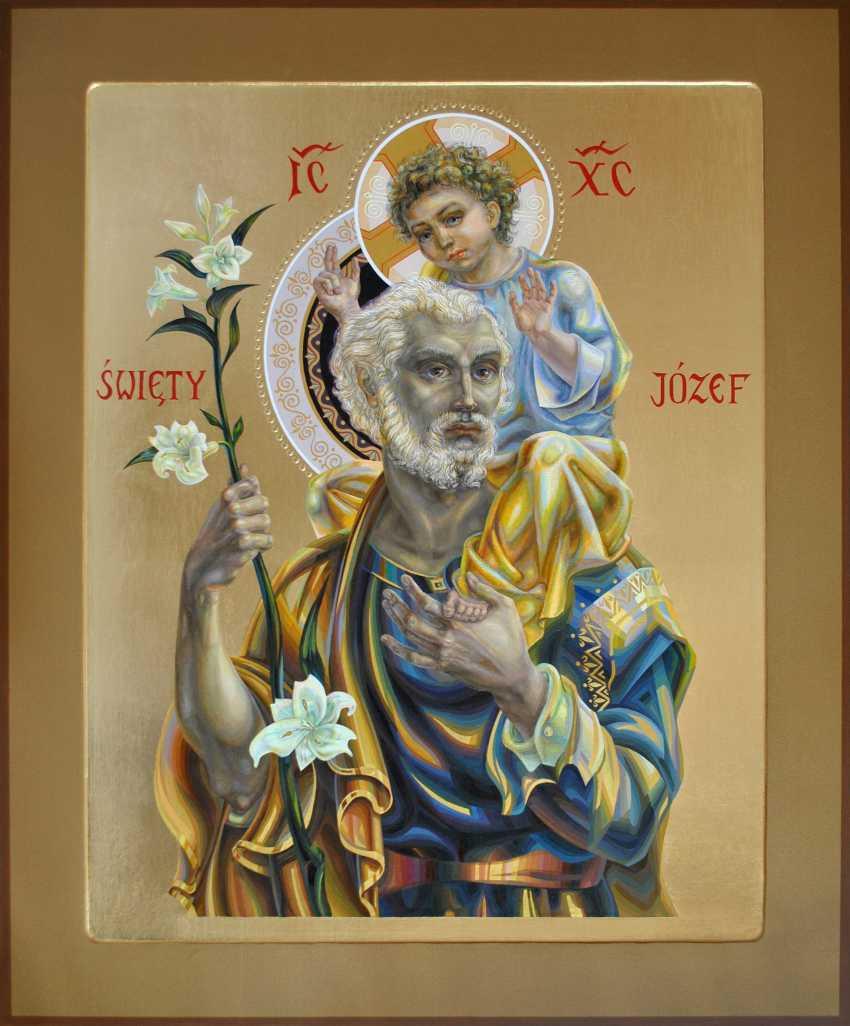 Vitsetskaya Sniazhana. Christ and Saint Joseph - photo 1