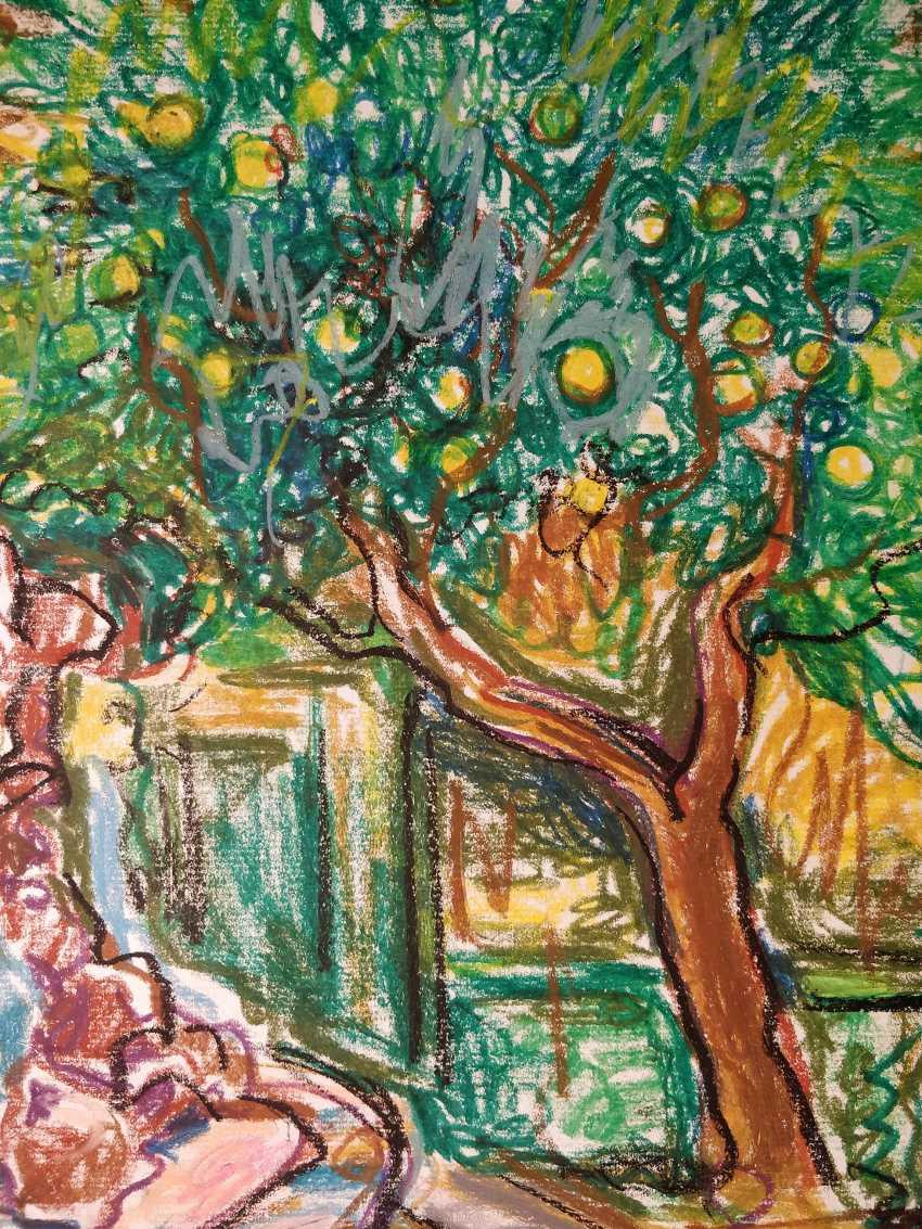 Olena Balykova. The orange tree - photo 2