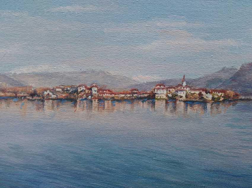 Oksana Borovik. Lake in the mountains - photo 3