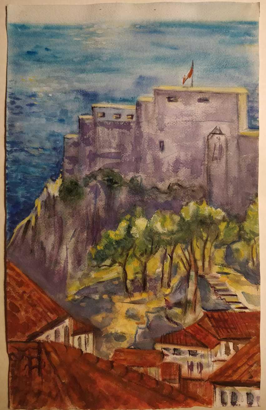 Olena Balykova. Dubrovnik Meer-Landschaft - Foto 1