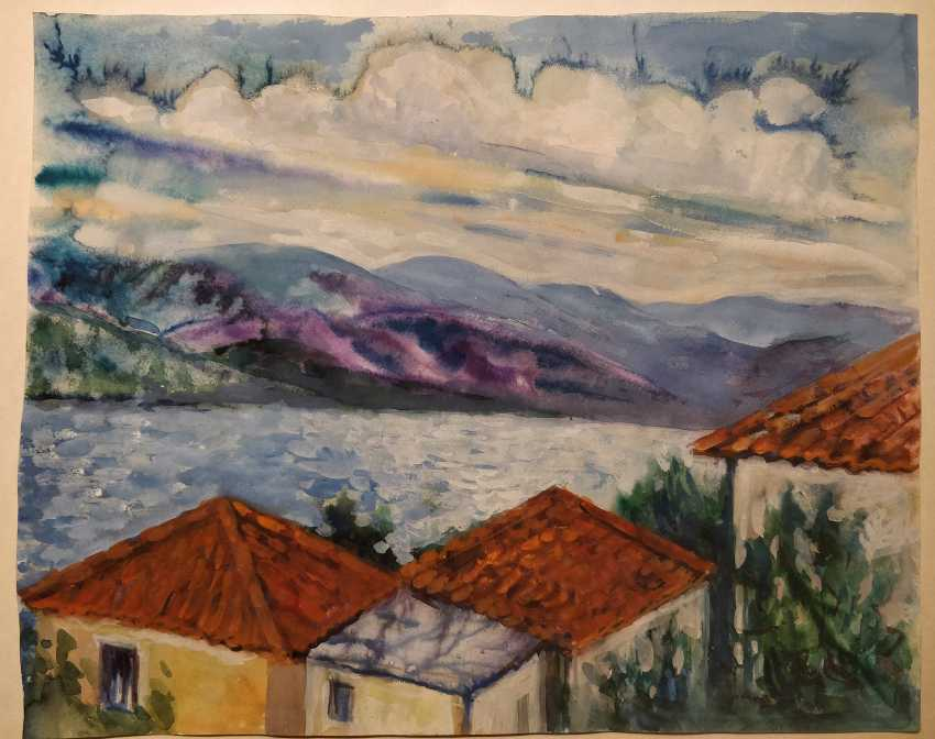 Olena Balykova. Croatia landscape . - photo 1