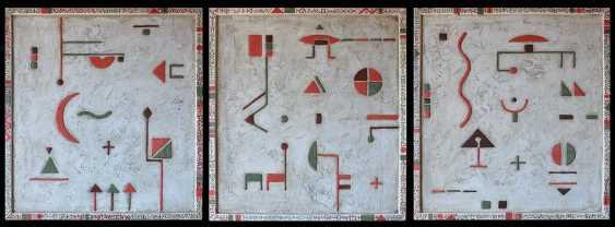 Alexander LEBEDEF. POLYGON (triptych) - photo 1