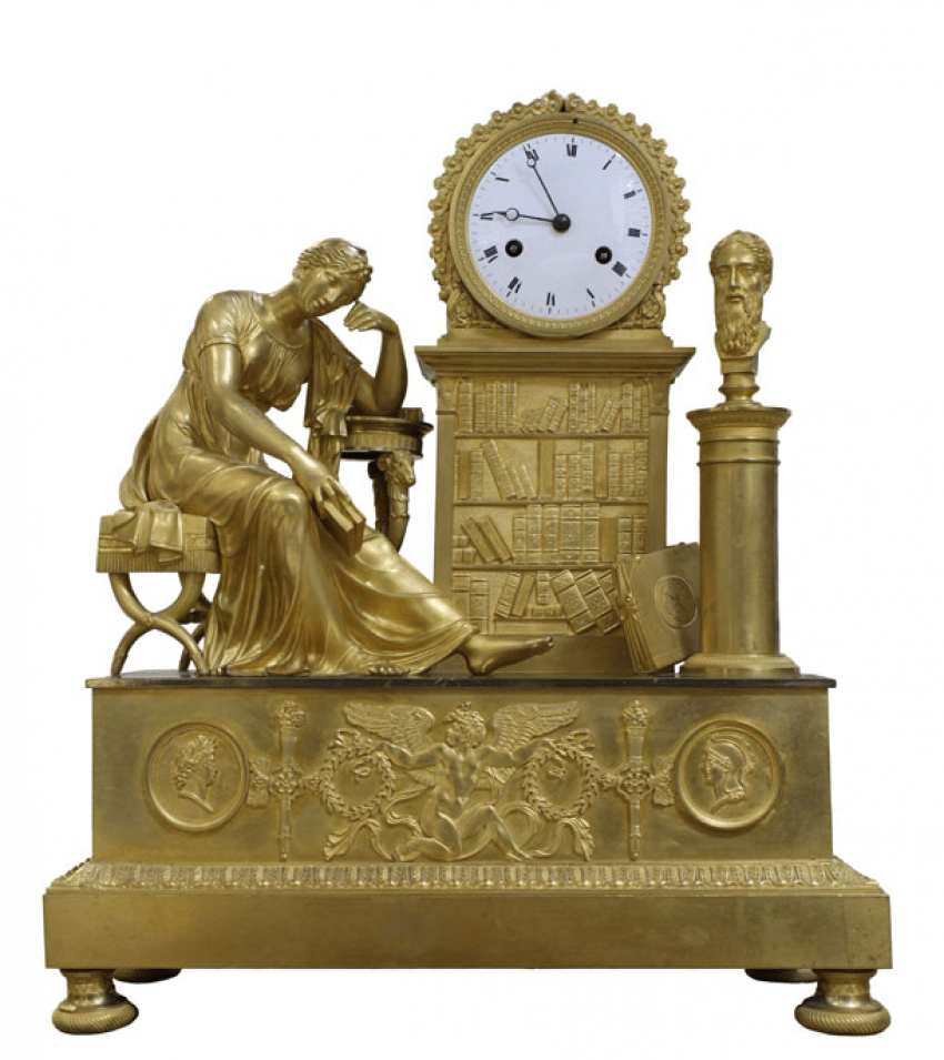 Mantel clock France 1810 - photo 1