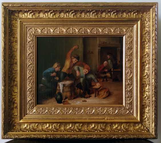 Antique paintings, Flemish around 1800, Restored. - photo 1