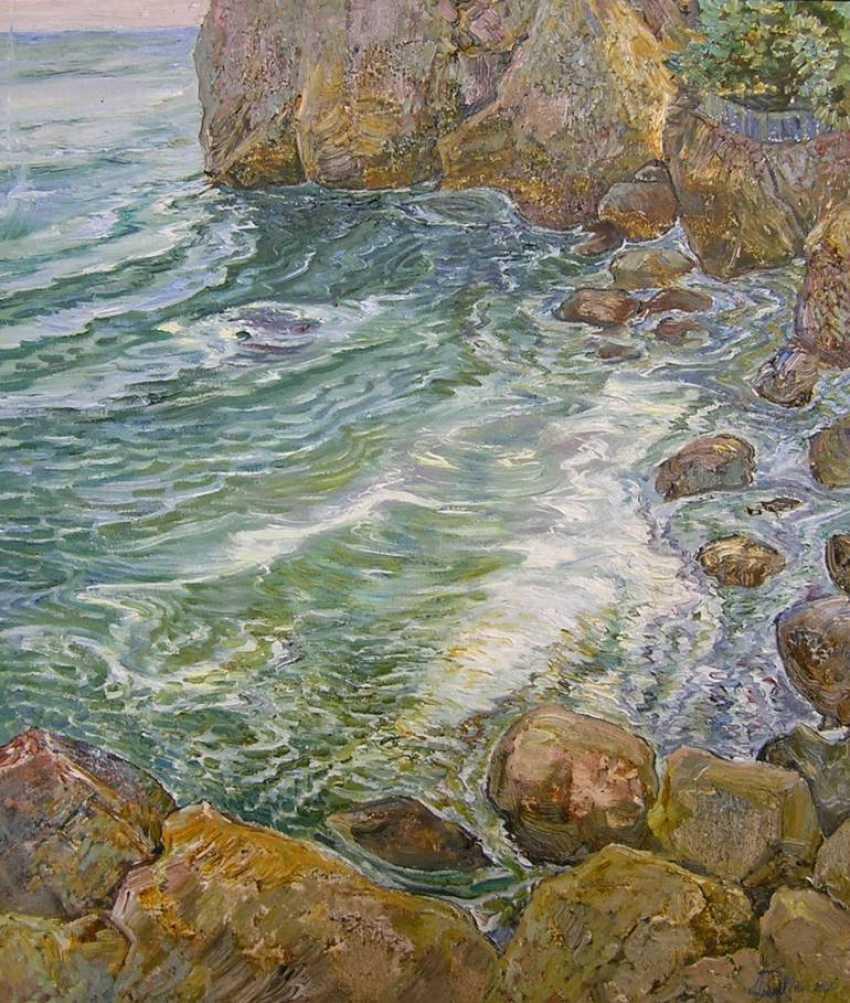 Aleksandr Dubrovskyy. Breath of the sea Painting by Aleksandr Dubrovskyy - photo 1