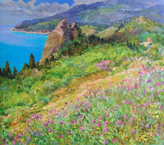 Aleksandr Dubrovskyy. On the south coast Painting by Aleksandr Dubrovskyy - photo 1