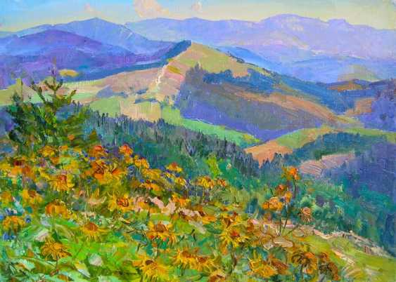 Aleksandr Dubrovskyy. Flowers blossom In the meadows Painting by Aleksandr Dubrovskyy - photo 1