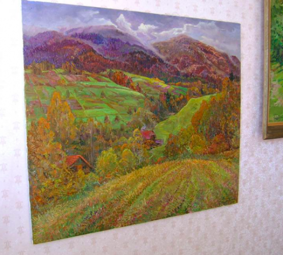 Aleksandr Dubrovskyy. In the mountains Painting by Aleksandr Dubrovskyy - photo 3