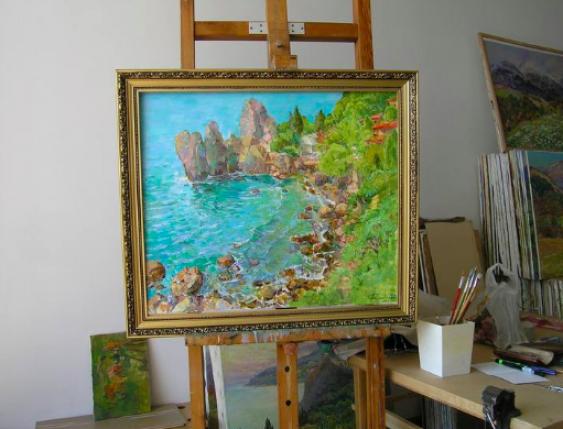 Aleksandr Dubrovskyy. Wind is from the South Painting byAleksandr Dubrovskyy - photo 2