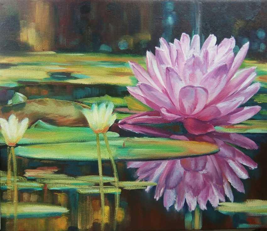 Natalia Reznichenko. 'Water Lily', Natalia Reznichenko - photo 1