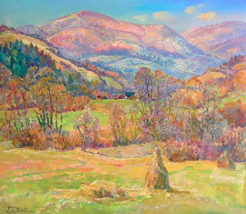 Aleksandr Dubrovskyy. The sun dancing in the Mountains Painting by Aleksandr Dubrovskyy - photo 1