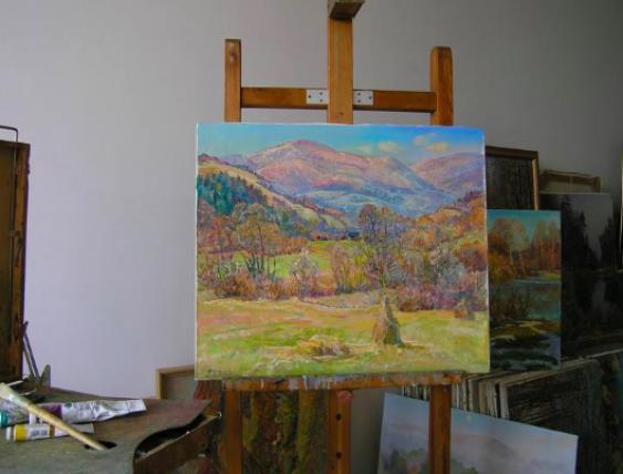 Aleksandr Dubrovskyy. The sun dancing in the Mountains Painting by Aleksandr Dubrovskyy - photo 2