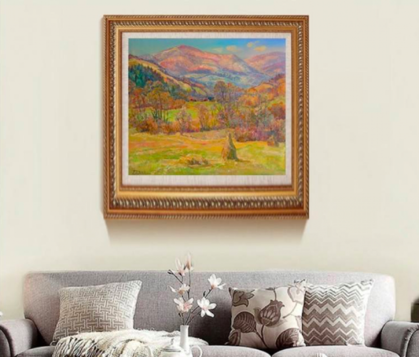 Aleksandr Dubrovskyy. The sun dancing in the Mountains Painting by Aleksandr Dubrovskyy - photo 3