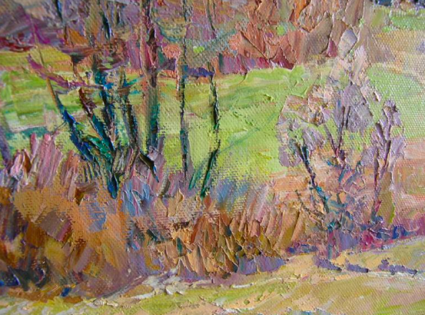 Aleksandr Dubrovskyy. The sun dancing in the Mountains Painting by Aleksandr Dubrovskyy - photo 5