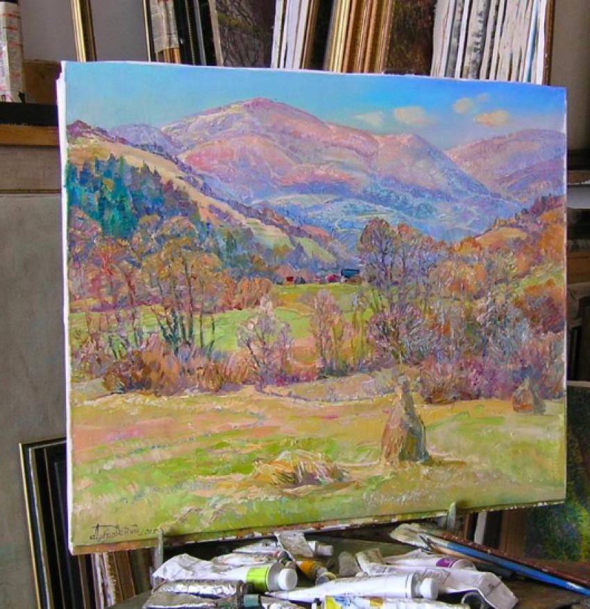 Aleksandr Dubrovskyy. Die Sonne tanzen, in die Berge Gemälde von Aleksandr Dubrovskyy - Foto 6
