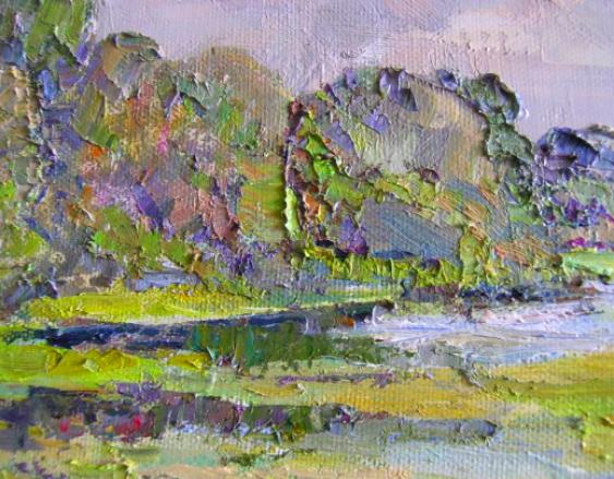 Aleksandr Dubrovskyy. Par la rivière de la Peinture par Alexandre Dubrovskyy - photo 5