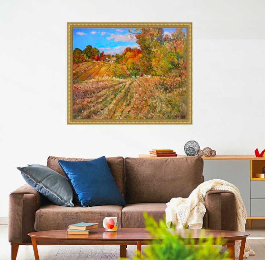 Aleksandr Dubrovskyy. Clear autumn midday Painting by Aleksandr Dubrovskyy - photo 2