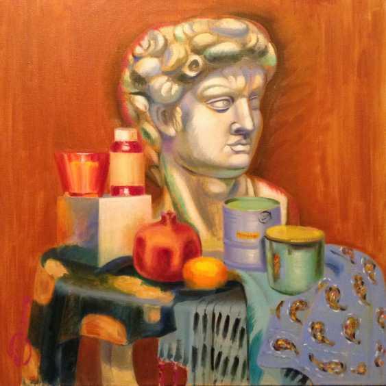"Alla Senatorova. Thurmont with plaster head"" - photo 1"