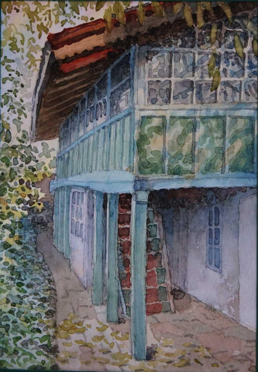 Aleksandr Zgursky. Old house. - photo 1