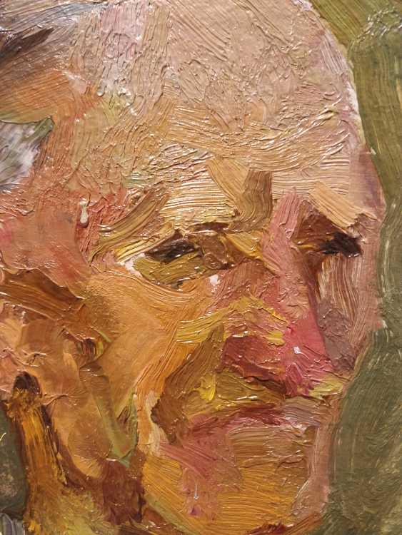 Olena Balykova. Portrait of an old man - photo 2