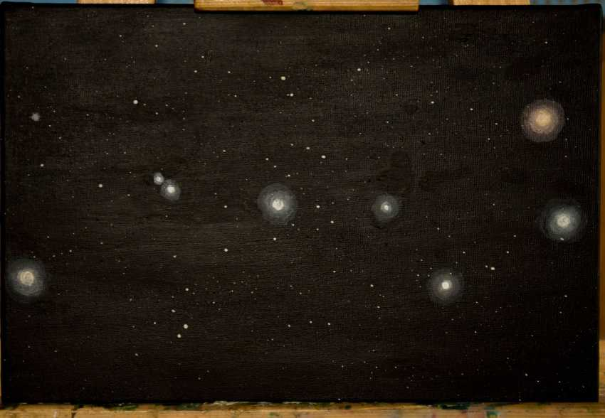 Olga Pris. The Constellation Of The Big Dipper. Space. Universe. - photo 1