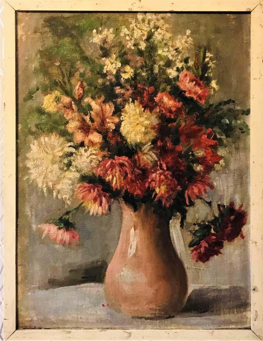 """Flowers in pot"" - photo 1"