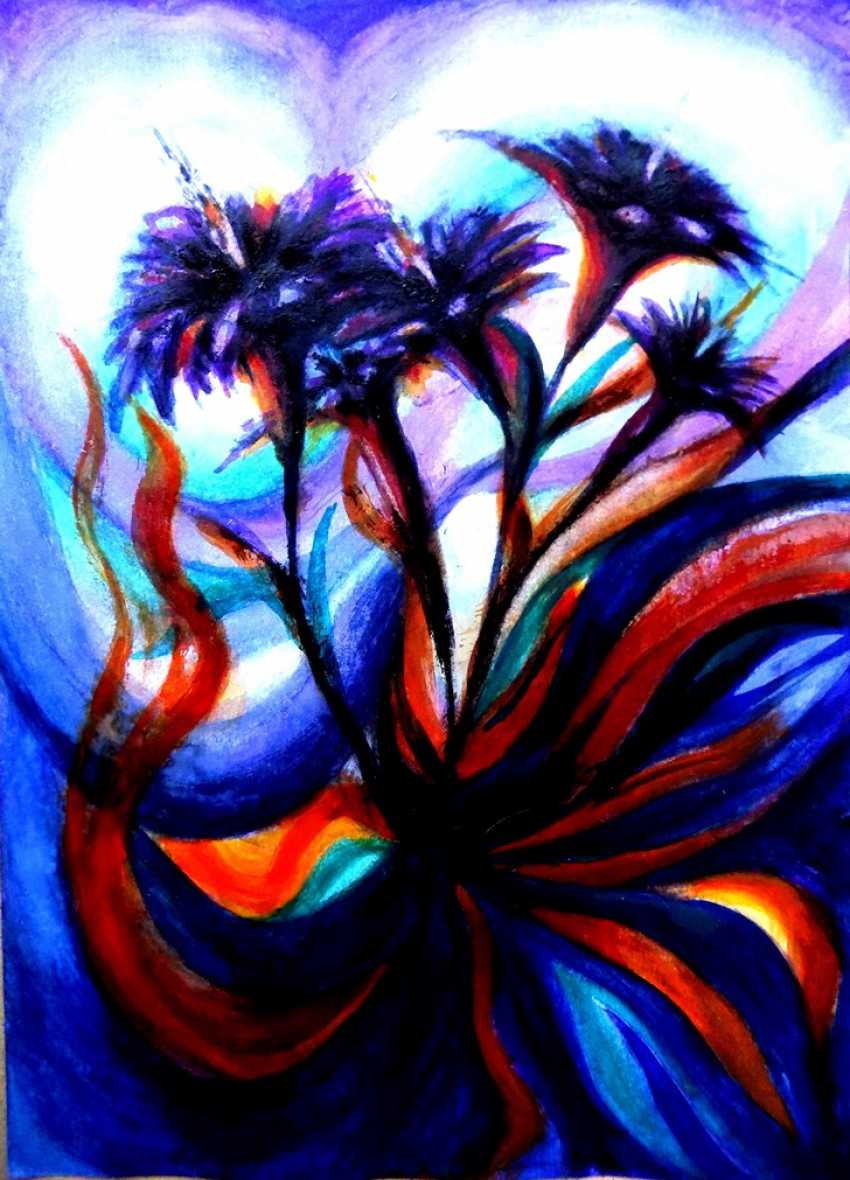 Alex Neint. Neon flowers - photo 1