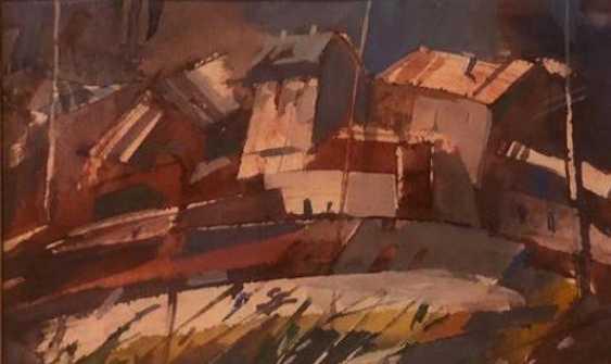 CITY IN RED TONES (A. Filippov) 2000 - photo 1