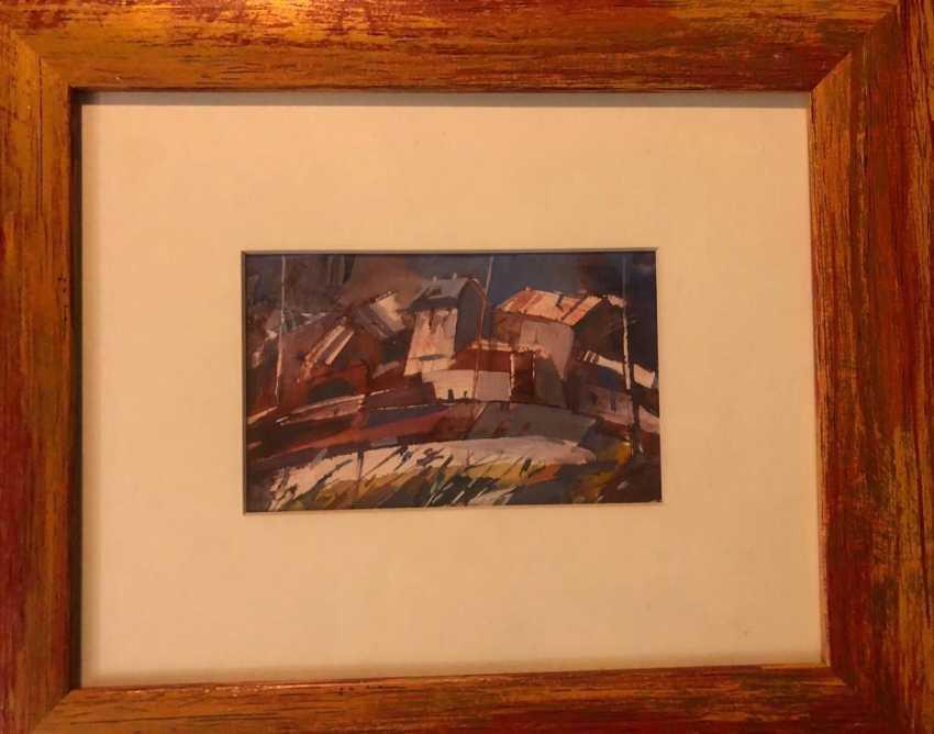 CITY IN RED TONES (A. Filippov) 2000 - photo 2
