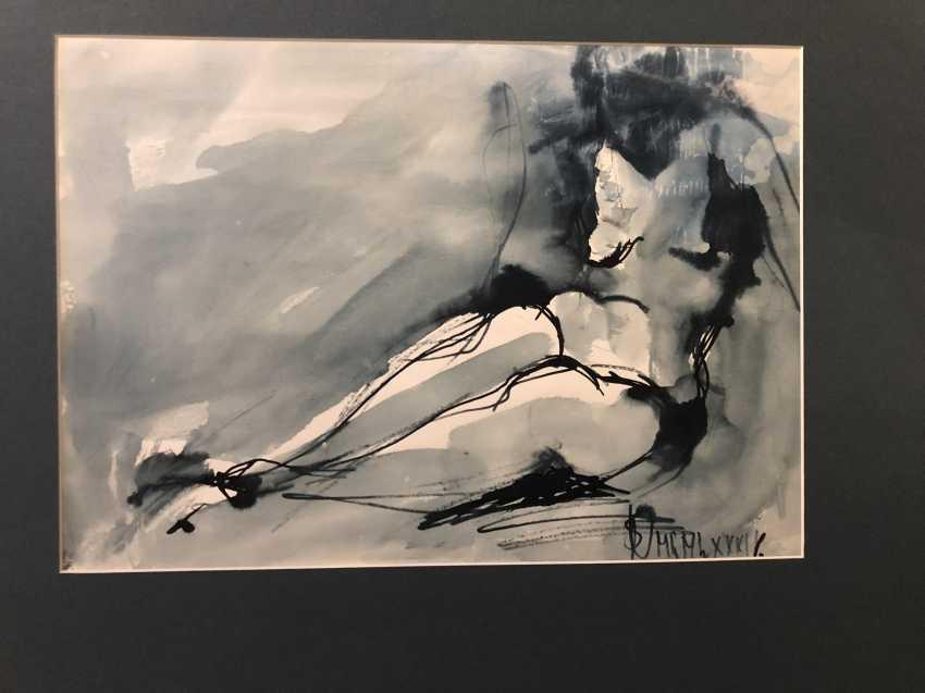 THE MUSE OF THE ARTIST. Yuri Gurov. 1982 - photo 1