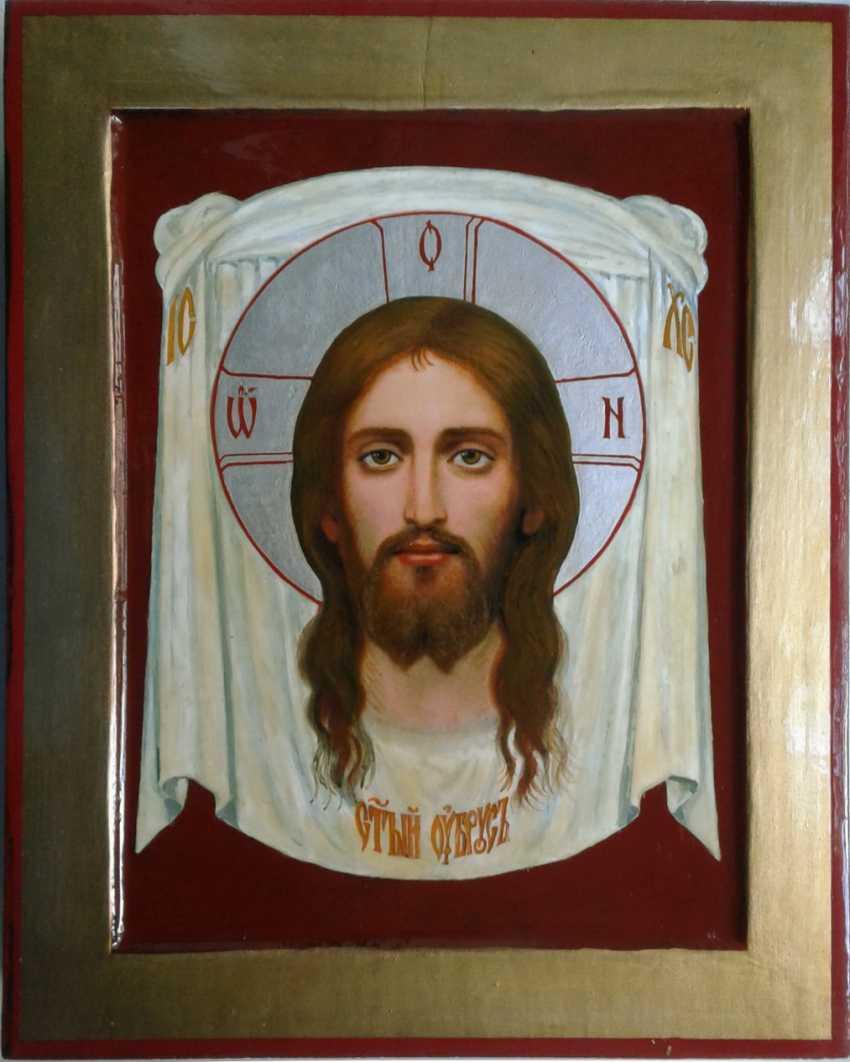 Gennadiy Stepanov. Ikone Der Heiligen Antlitz. - Foto 1
