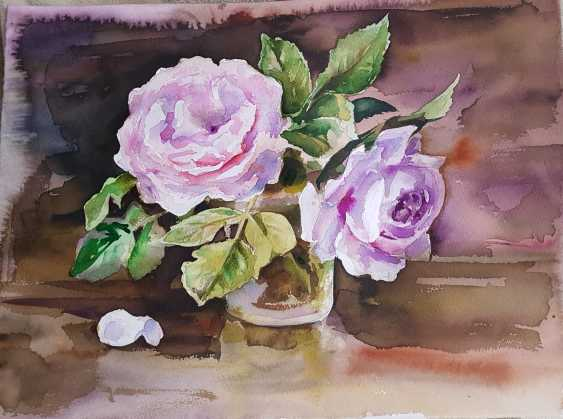 Vladislava Frizyuk. roses - photo 1
