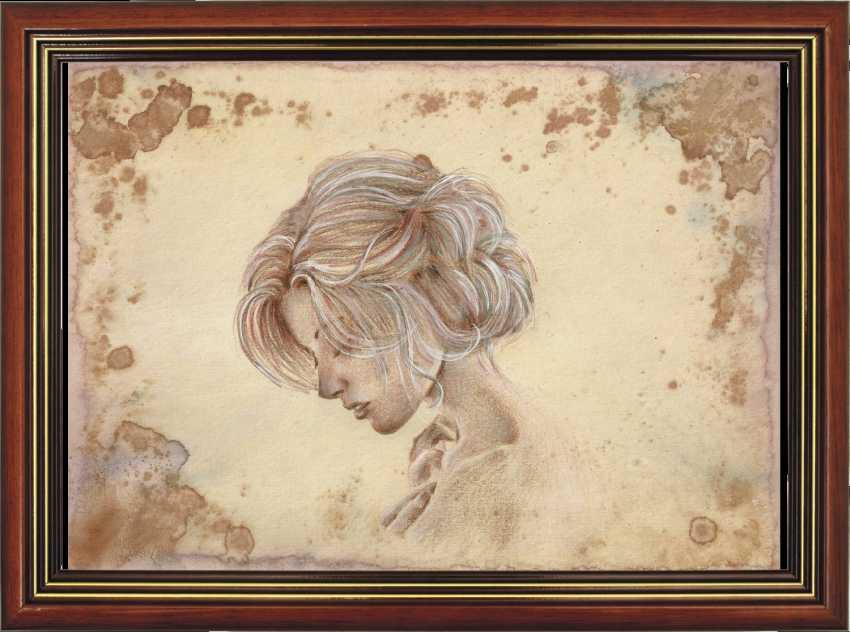 Natasha Mishareva. Vintage. Drawing, handwork, 2019 the Author - Natalia Pisareva - photo 2