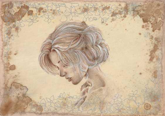 Natasha Mishareva. Vintage. Drawing, handwork, 2019 Author - Pisareva Natalia - photo 2