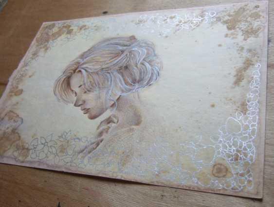 Natasha Mishareva. Vintage. Drawing, handwork, 2019 Author - Pisareva Natalia - photo 3