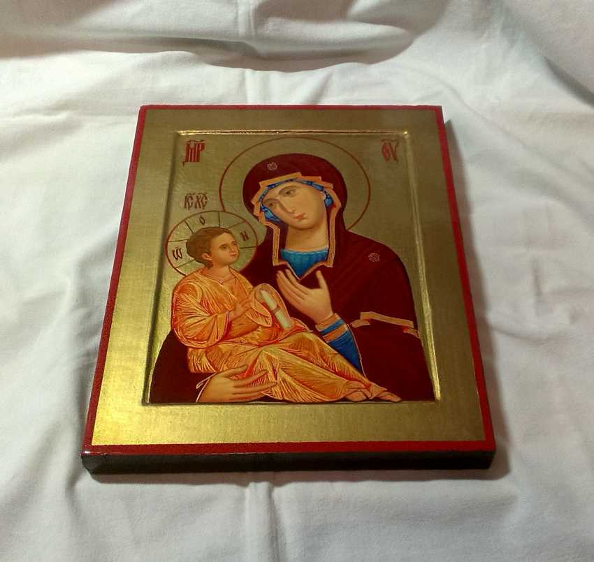 Gennadiy Stepanov. The Icon Of The Mother Of God Hodegetria. The Monastery Of Chilandar. - photo 4