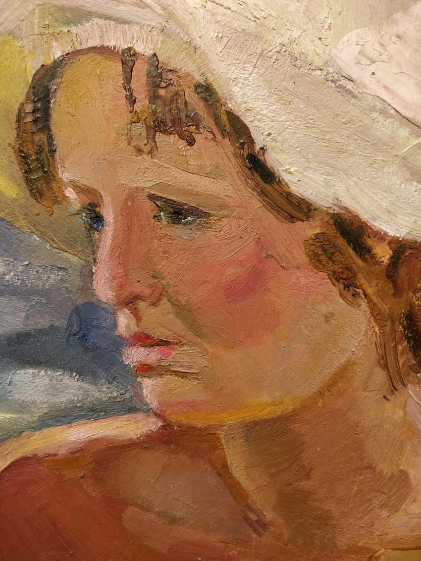 Olena Balykova. Portrait of an young girl - photo 3
