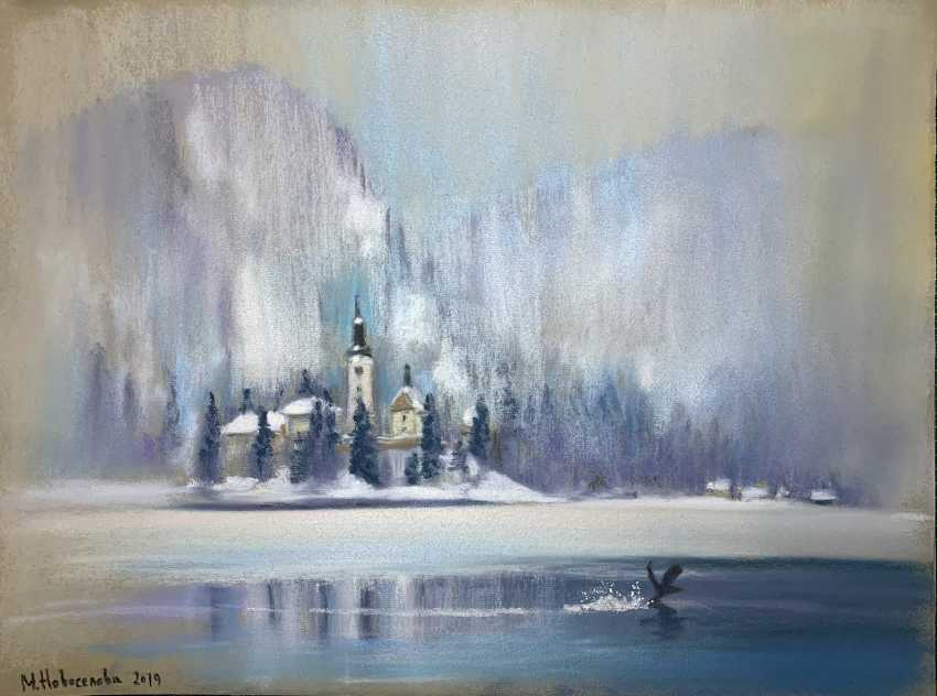 Masha Novoselova. On lake bled - photo 1