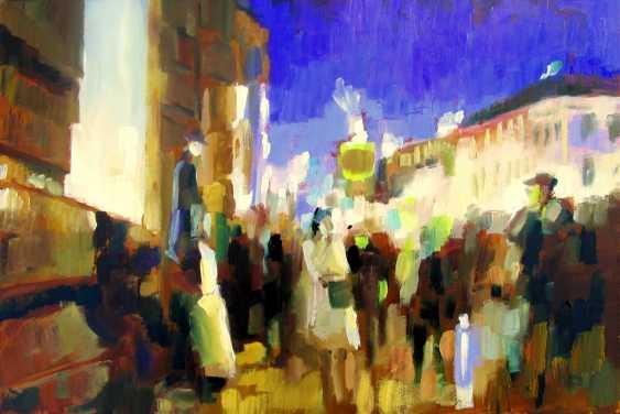 "Igor Pautov. Oil painting ""Evening Petersburg"" - photo 1"