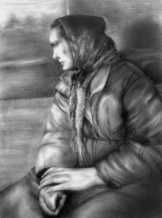 Olha Rabodzei. The woman from the train - photo 1