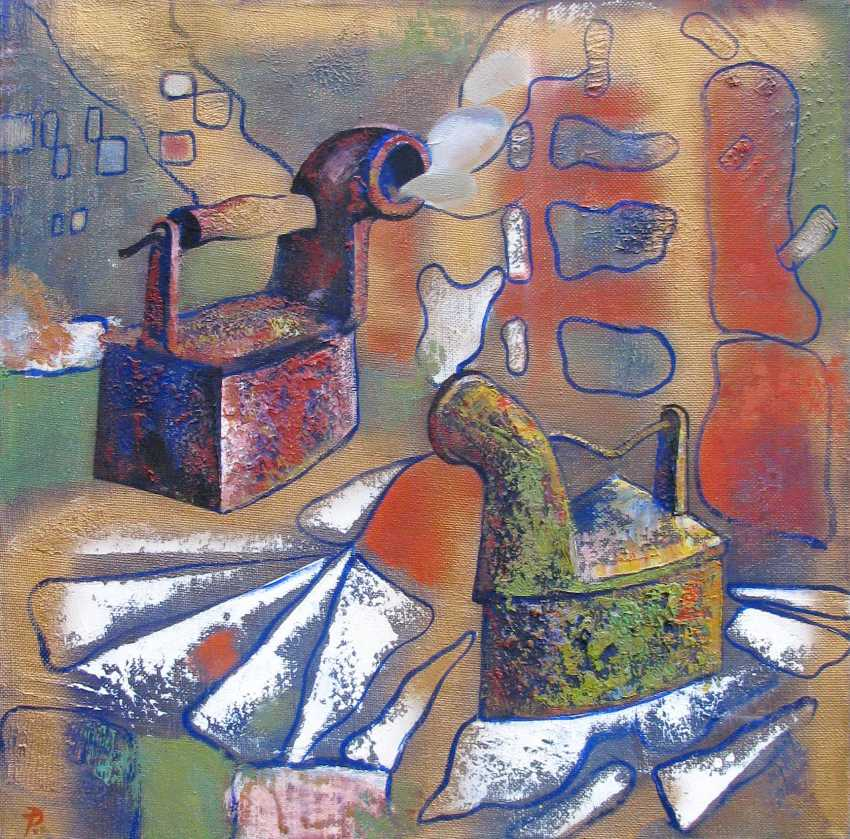 Rygor Tabolich. Still life with red iron - photo 1