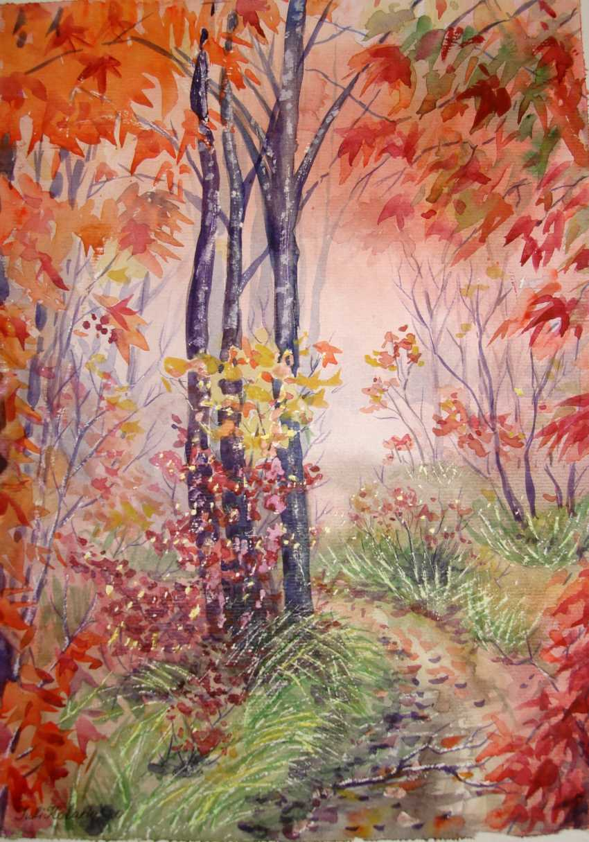 Julia Koliada. Bright autumn day - photo 1
